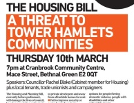 PUBLIC MEETING – Kill The Housing Bill