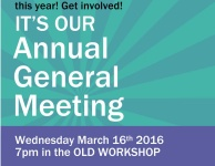 AGM Weds March 16th 2016